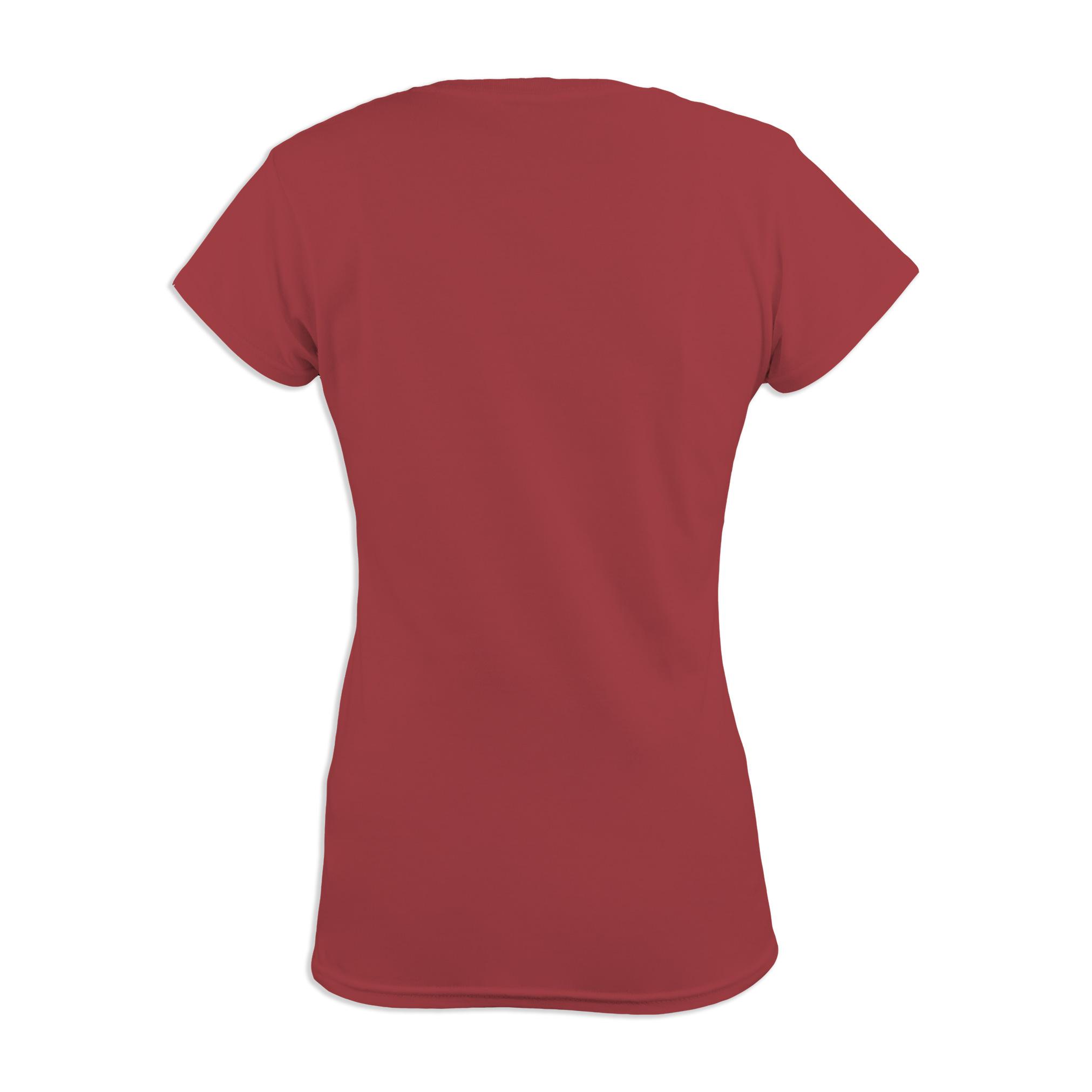 1d3412a3f547 Basic Damen T-Shirt V-Ausschnitt farbig - bandshirt24.de